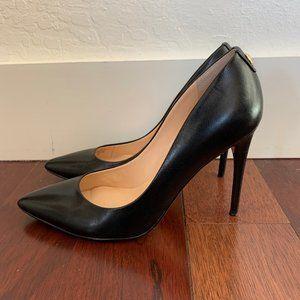 Ivanka Trump Kayden Black Leather High Heels